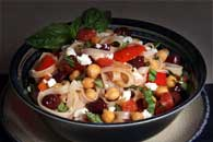 Mediterranean Vegetables and Chickpeas Recipe