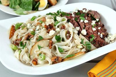Gorgonzola and walnut pasta recipe