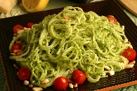 Pine Nut Parsley Pesto Pasta Recipe