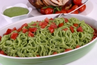 Notta Pasta with Spinach Pesto Recipe
