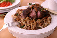 Steak with Mushrooms and Madeira  Recipe